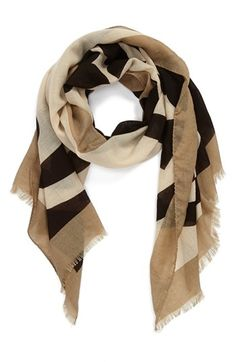 Tory Burch 'Reva' Wool Scarf available at #Nordstrom