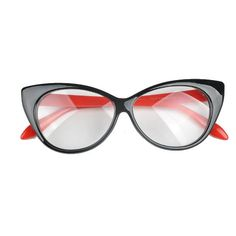 d96656a5d523 La Mia Cara - Black Red Berlin - Spectacle Cat Eye Optical Glasses Framing  Materials