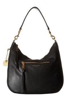 Marc Jacobs Recruit Hobo (Black) Hobo Handbags - Marc Jacobs, Recruit Hobo, M0008895-001, Bags and Luggage Handbag Hobo, Hobo, Handbag, Bags and Luggage, Gift, - Street Fashion And Style Ideas