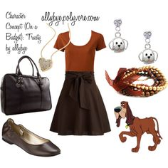 Character Concept (On a Budget): Trusty, created by allybye on Polyvore