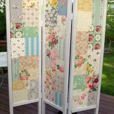 Fabric DIY folding screen