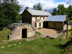 Salt Fork's Stone House Museum. May 1 - October 31, 2015. Location: Salt Fork State Park. Hours: Monday, Friday-Sunday 1-5 p.m.  Admission by donation. US Route 22 East Cambridge, 43725. 1840 Stonehouse Museum docent tours are available. There will be special displays throughout the year. The Stonehouse is listed on the National Register of Historic Places.