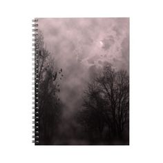 Blood Red Haunted Sky with Ravens Notebook ($17) ❤ liked on Polyvore featuring home, home decor, extras, accessories, filler, red notebooks, gothic home decor, goth home decor, red home accessories and red home decor