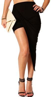 #Windsor                  #Skirt                    #Black #Twisted #Maxi #Skirt                        Black Twisted Maxi Skirt                            http://www.seapai.com/product.aspx?PID=1759849