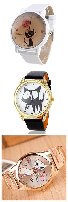 Adorable kitty watches! Cute cats right?