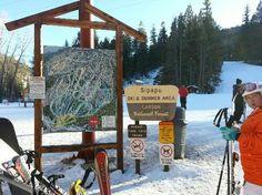 ski map sign - Google Search