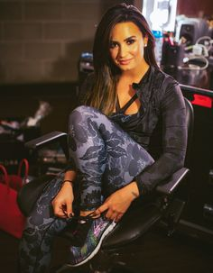 Demi lovato for Sketchers                                                       …