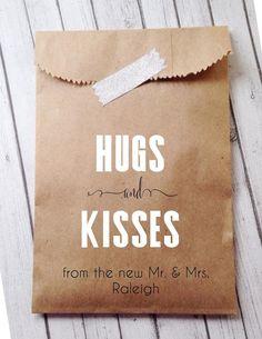 Candy tassen - bruiloft gunsten, gunst tassen, Candy Bar Buffet tassen, rustieke…