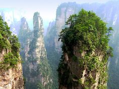Most Beautiful Places in China - Zhangjiajie National Forest Park
