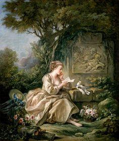 The Secret Message (c.1767). François Boucher (French, 1703-1770). Oil on canvas.