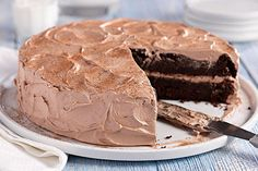 You'd never guess there's a bumper crop of shredded zucchini in this super-moist double-chocolate cake made with cake mix and chocolate pudding.