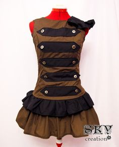 Custom Loli's Army Dress by skycreation on Etsy, $65.00