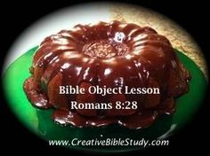Christian Object Lesson - Romans 8:28 Bible Verse