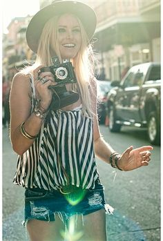 Love everything about this picture!!!  Show Me Your Mumu Abria Ruffle Top