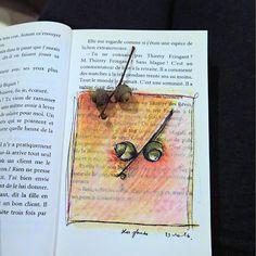 CaroLigne...: Sketchbook d'Octobre 2016Croquis minute d'automne ...