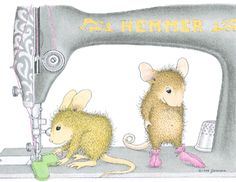 """""""Maxwell and Amanda"""" from House-Mouse Designs®"""