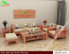 bàn ghế gỗ phòng khách N171