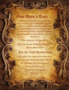 Once Upon a Time wording for wedding invatations | invitation for Feb 6th1 791x1024 Once Upon A Time A Bridal Show Was ...