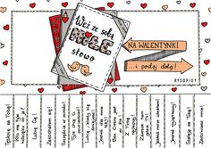 Zdjęcie użytkownika Rysopisy. Diy Presents, School Notes, Early Education, Love Life, Kids And Parenting, Mom And Dad, Kindergarten, Preschool, Playing Cards
