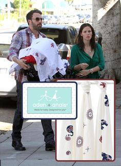 Aden and Anais Muslin Blankets used by celebrities