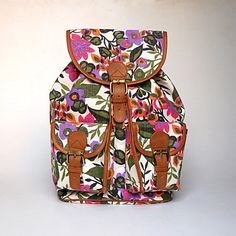 Washed+Canvas+Backpack+by+ShaunDesign+on+Etsy,+$30.15