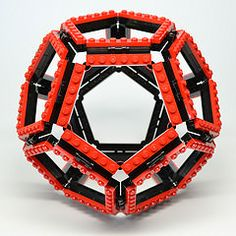 Dodecahedron (Dead Homer) Tags: ball lego sphere math dodecahedron polyhedron