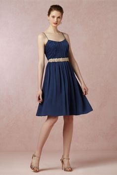 Giselle Dress from BHLDN on sale for $80, Night is the color I've chosen.... What do you think ladies?