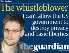 Manifestacion contre le extradicion de Edward Snowden