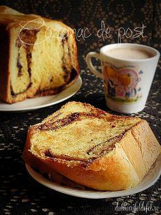 Cozonac de post | Dulciuri fel de fel Romanian Food, Happy Easter, French Toast, Recipies, Brunch, Vegan, Cooking, Breakfast, Desserts