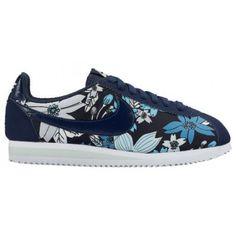 7c2dcf0942 Nike Classic Cortez - Women's - Running - Shoes - Midnight  Navy/White/Fiberglass/Midnight Navy-sku:02370441