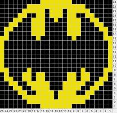 Batman Logo 3x5in