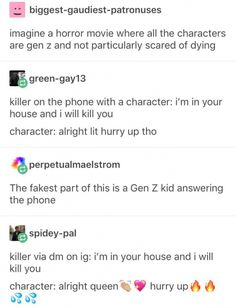 This is funny, but we Gen Z-ers aren't THAT uncaring. It's not like we dont use actual phone calls anymore, smh Haha Funny, Hilarious, Funny Stuff, Fun Funny, My Tumblr, Tumblr Funny, Memes Marvel, Funny Pictures, Funny Images