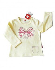 piękna klasyczna i oryginalna bluzeczka z delikatnym zdobieniem w rozmiarach 92,98,104