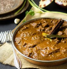 Rogan Josh - A hearty, comforting and beautifully spiced lamb curry that brings warmth to the soul and the spirit of India right to your plate.  Grain and gluten free.
