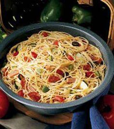 Spaghetti Pasta Salad Recipe