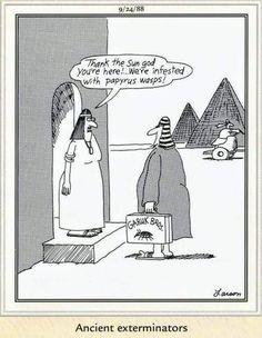 """The Far Side"" by Gary Larson Far Side Cartoons, Far Side Comics, Funny Cartoons, Funny Jokes, Hilarious, Physics Humor, Engineering Humor, Cartoon Network Adventure Time, Humor"