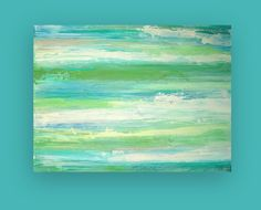 Large Original Acrylic Abstract Painting. Ora Birenbaum. via Etsy. other great pieces, too.