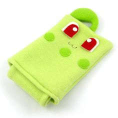 Chikorita Pokemon Nintendo DS case pouch fleece camera carrying case 3DS / DSi / DS Lite / PSP holder