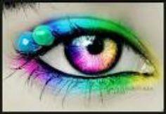color eye contact
