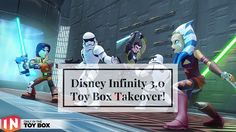 Disney Infinity 3.0 Toy Box Takeover, Disney Infinity Gameplay