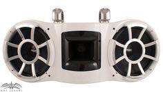 Wet Sounds REV 410 Swivel Clamp Tower Speaker - WHITE