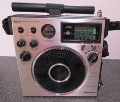 Vintage Panasonic 6 Band FM / AM / MB / SW1 / SW2 / CB Radio, Model No. RF-1150B #Panasonic