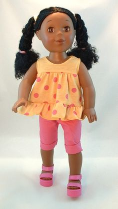 Mia I'm a Pretty Little Black Girl 18 inch Doll based on the book by Betty K. Bynum.