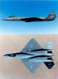 Northrop YF-23 First Flight