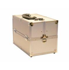 Schminkkoffer alluminium