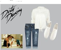 """""""Dirty Dancing"""" by chloelouise9876 ❤ liked on Polyvore"""