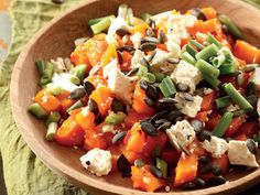 Butternut and sweet chilli salad South African Recipes, Ethnic Recipes, Cooking Recipes, Healthy Recipes, Healthy Food, Sweet Chilli, Soup And Salad, Food Inspiration, Salad Recipes