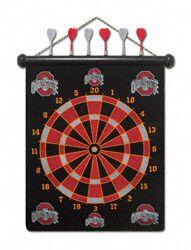 Ohio State Buckeyes Magnetic Dart Set $35.99 http://www.fansedge.com/Ohio-State-Buckeyes-Magnetic-Dart-Set-_-947390544_PD.html?social=pinterest_pfid44-44119