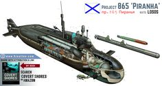 project 865 submarine - Pesquisa Google