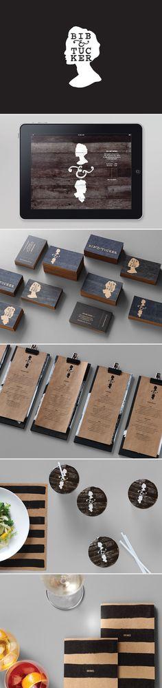 Bib & Tucker Brand identity   #stationary #corporate #design #corporatedesign #identity #branding #marketing < repinned by www.BlickeDeeler.de   Take a look at www.LogoGestaltung-Hamburg.de